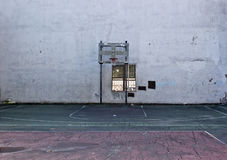 Campo de básquete de NYC Imagem de Stock Royalty Free