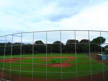 Campo de béisbol fotos de archivo libres de regalías