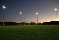 Campo de béisbol imágenes de archivo libres de regalías