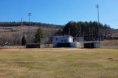 Campo de béisbol local Fotos de archivo