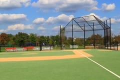 Campo de basebol Fotografia de Stock