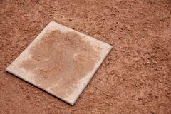 Campo de basebol da argila Fotografia de Stock