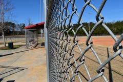 Campo de basebol vazio imagens de stock royalty free