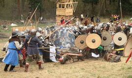 Campo de batalha Imagem de Stock