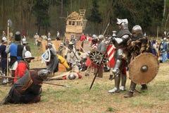 Campo de batalha Foto de Stock Royalty Free