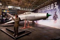 Campo de batalla 3 en Gamescom 2011 Fotografía de archivo libre de regalías
