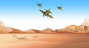 Campo de batalla libre illustration
