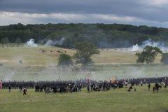 Campo de batalla de Gettysburg Fotografía de archivo