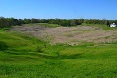 Campo de batalla de Vicksburg Foto de archivo libre de regalías