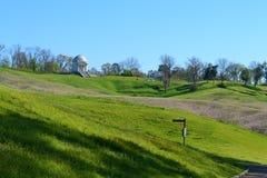 Campo de batalla del nacional de Vicksburg Imagenes de archivo