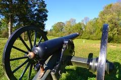 Campo de batalla del nacional de Vicksburg Fotos de archivo libres de regalías