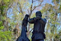 Campo de batalla del nacional de Vicksburg Fotografía de archivo libre de regalías
