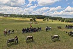 Campo de batalla en Gettysburg Fotos de archivo libres de regalías