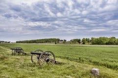 Campo de batalla Gettysburg foto de archivo libre de regalías