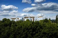Campo de Bautiful Foto de archivo libre de regalías