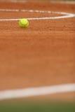 Campo de beísbol con pelota blanda bajo del dof Foto de archivo libre de regalías