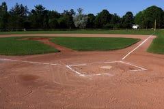 Campo de bola abierta foto de archivo