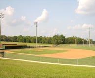 Campo de bola vacío Imagen de archivo
