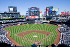 Campo de Citi, HOME do Mets imagem de stock royalty free