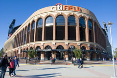 Campo de Citi, HOME do Mets fotos de stock