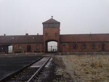 Campo de concentração Aushwitz do Polônia imagens de stock royalty free