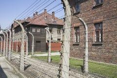 Campo de concentração de Auschwitz Fotografia de Stock Royalty Free