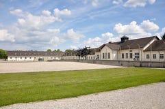 Campo de concentração de Dachau fotografia de stock royalty free