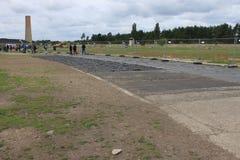 Campo de concentração de Sachsenhausen - Berlim imagem de stock royalty free