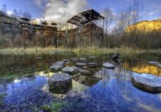 Campo de concentração de Plaszow imagem de stock