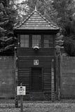 Campo de concentración - Auschwitz-Birkenau, historia Imágenes de archivo libres de regalías