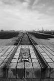 Campo de concentración - Auschwitz-Birkenau, historia Foto de archivo libre de regalías