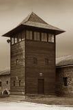 Campo de concentración - Auschwitz-Birkenau, historia Foto de archivo