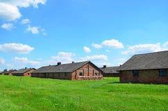 Campo de concentración de Auschwitz - de Birkenau, dentro Fotografía de archivo