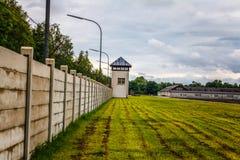 Campo de concentración de Dachau Imágenes de archivo libres de regalías