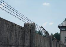 Campo de concentración de Dachau y sitio conmemorativo fotos de archivo