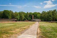Campo de concentración de Stutthof Polonia Foto de archivo