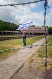 Campo de concentración de Stutthof Polonia Imagen de archivo libre de regalías