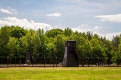 Campo de concentración de Stutthof Polonia Imágenes de archivo libres de regalías