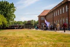 Campo de concentración de Stutthof Polonia Fotos de archivo libres de regalías