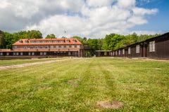 Campo de concentración de Stutthof Polonia Foto de archivo libre de regalías