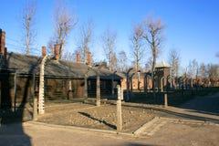 Campo de concentración en Polonia Imagen de archivo libre de regalías
