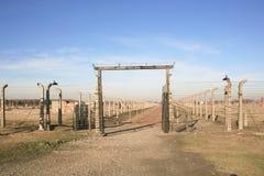 Campo de concentración en Polonia Imagenes de archivo