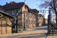 Campo de concentración en Polonia Foto de archivo libre de regalías