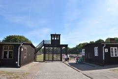 Campo de concentração do nazi de Stutthof Foto de Stock