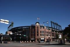 Campo de Coors - Denver Imagem de Stock Royalty Free