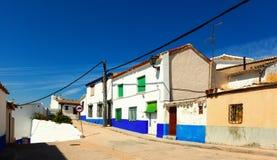 Campo de Criptana. La Mancha, Espanha Fotografia de Stock Royalty Free