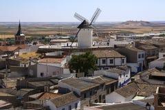 Campo de Criptana - La Mancha - Spain Stock Photo