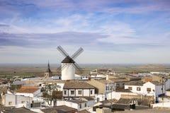 Campo de Criptana town, province of Ciudad Real, Castilla-La Mancha, Spain Royalty Free Stock Image
