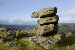 Campo de Dartmoor Fotos de Stock Royalty Free