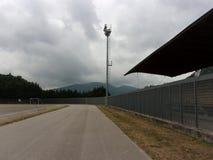 Campo de deporte, Italia del sur Foto de archivo